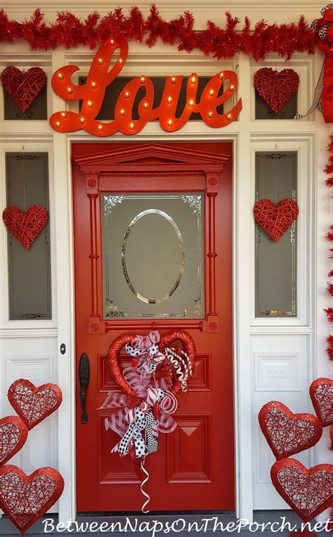door decorations for valentines s day decorations decorate the porch front