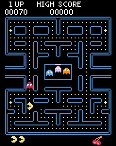 pacman time wasted pac counted cross stitch plastic canvas cross stitch