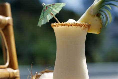 Frozen Kappa Colada Cocktail Recipe