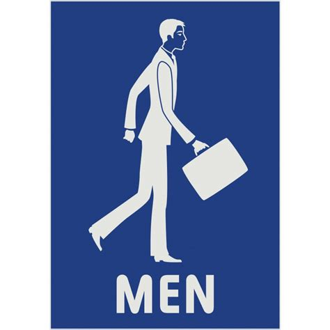 man bathroom sign bathroom signs for men and women clipart best
