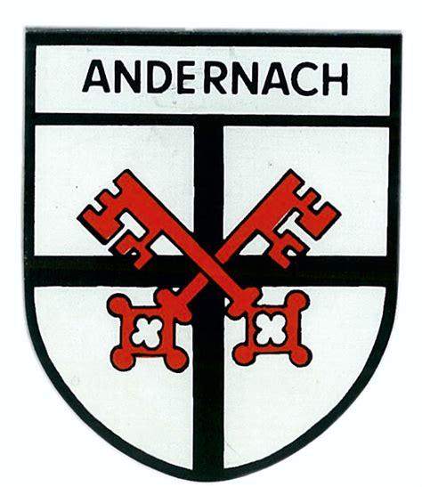 Aufkleber 60 X 60 by Aufkleber Wappen Andernach 75 X 60 Mm Schneller