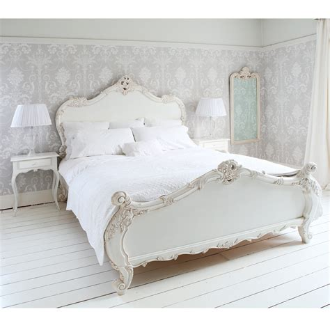 White Bed by Provencal Sassy White Bed Bedroom Company