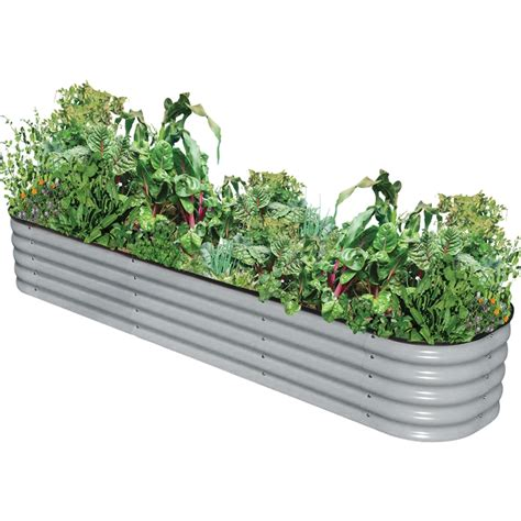 Raised Vegetable Garden Beds Bunnings Birdies 385mm Zinc 9 In 1 Modular Raised Garden Bed