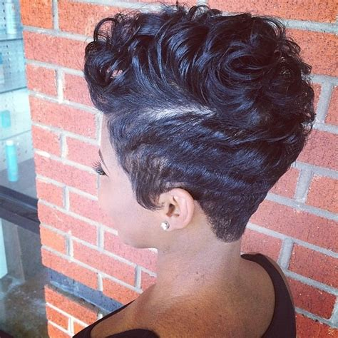 rear view black short haircuts for black women short hairstyles for black women back view hollywood
