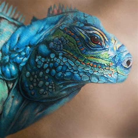 iguana tattoo designs and personal meaning full tattoo