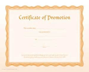 certificate of promotion template certificate of promotion item 065346
