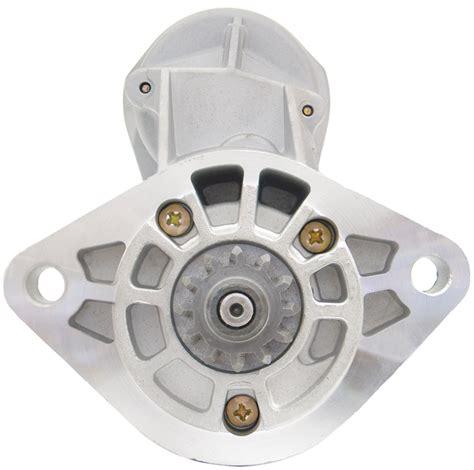 how to fit starter motor new starter motor to fit toyota landcruiser 4 2l diesel