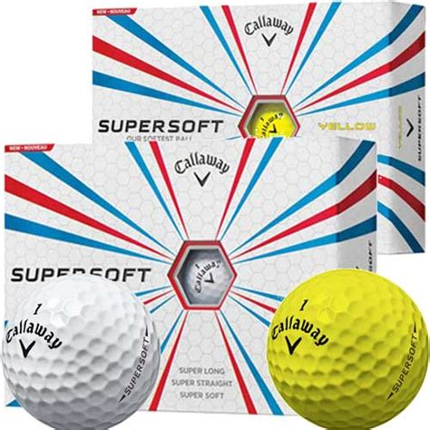 Golf Callaway Supersoft 2018 callaway supersoft yellow golf balls free eu