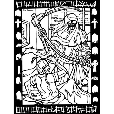 halloween coloring pages grim reaper scary coloring pages for adults reaper coloring sheet