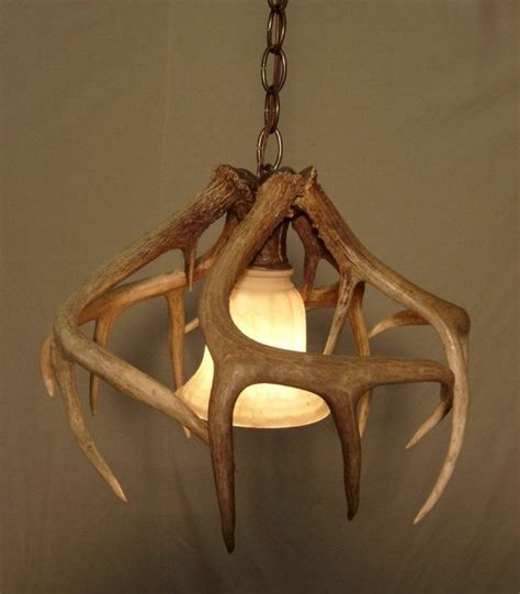 deer antler light fixtures whitetail antler pendant light 239 40 via etsy
