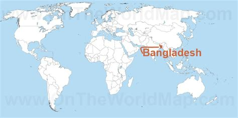 where is dhaka on the world map bangladesh maps maps of bangladesh ontheworldmap