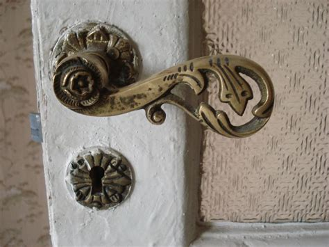 Door Knob Vintage by Vintage Bronze Door Knob
