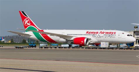 kenya airways  launch   route   usa