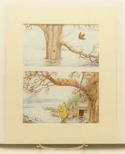 Vintage Winnie The Pooh Nursery Decor Baby Nursery Decor Classic Winnie The Pooh By Cloudnineprints