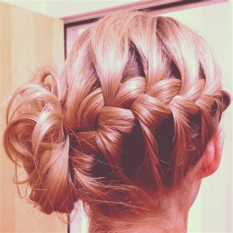 french braids pin up on the sid for black woman bridesmaid hair french braid updo