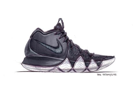 Kyrie 4 Sketches by Meet Kyrie Irving S New Design Partner And The Kyrie 4
