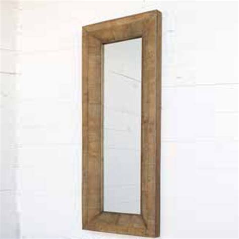 reclaimed wood mirror park hill collection reclaimed wood mirror yf6613