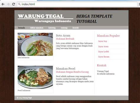 script untuk membuat web sederhana cara berga membuat website sederhana dengan script html 5