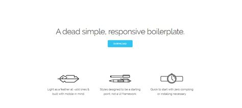 skeleton responsive template choice image templates