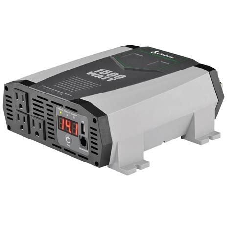 1500 Watt Power Inverter ridgid 100 watt power inverter rd97100 the home depot