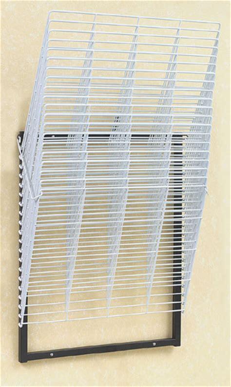art racks compact 20 shelf wall rack blick art materials