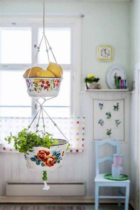 our new obsession hanging fruit baskets