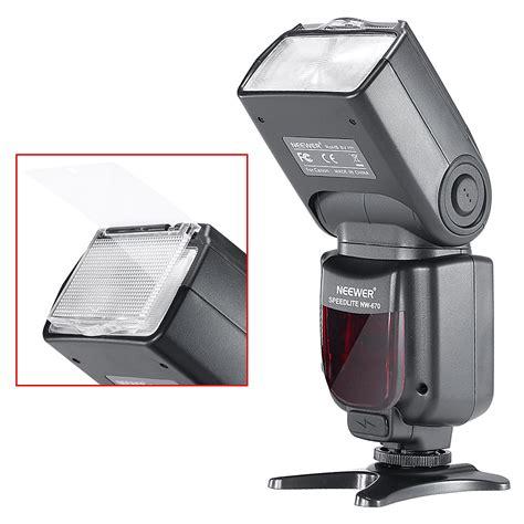 Flash Kamera Canon 1100d neewer nw670 e ttl flash for canon eos 700d 650d 600d
