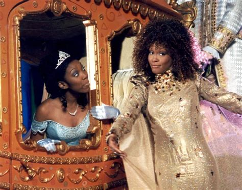 cinderella film with brandy whitney houston and brandy in cinderella photos