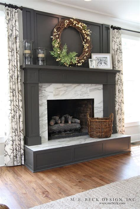 fireplace mantle design for the home
