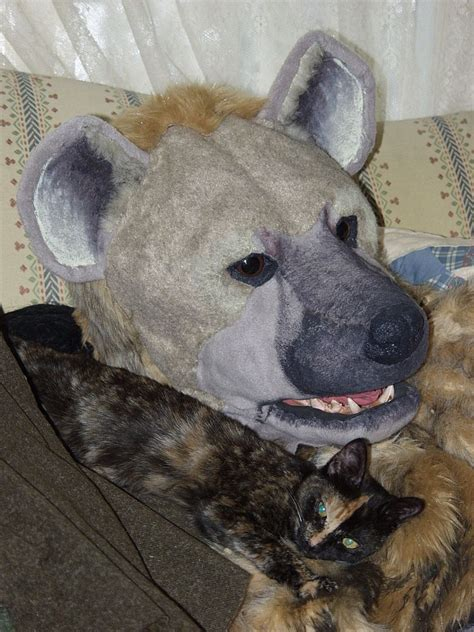 hyena cat or hyena arts and crafts