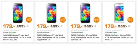 Preis Samsung Galaxy S5 1390 by Samsung Galaxy S5 Mini Ohne Vertrag 129 90 B Ware