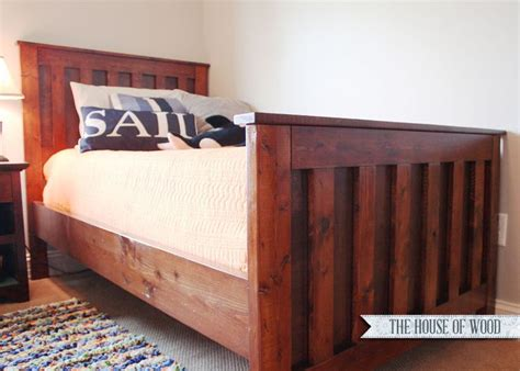 how to make a twin bed frame twin bed wood frame plans woodworking projects plans