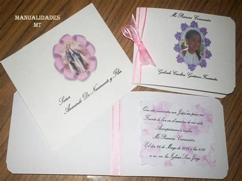 invitaci 243 nes en foami para primera comuni 243 n imagui temas para hacer tarjetas de primera comunion temas para hacer tarjetas de primera comunion