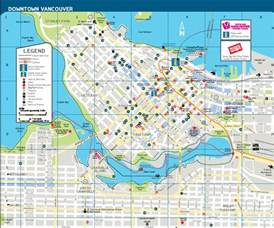 map of downtown vancouver canada vancouver vacation rental maps alluradirect