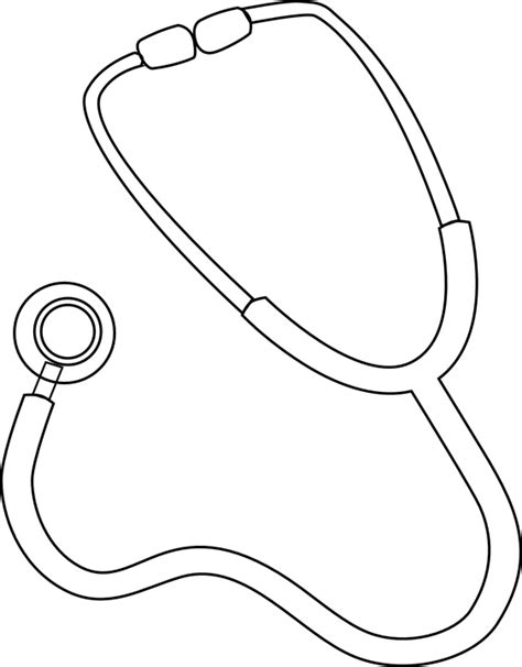 stethoscope template free vector graphic stethoscope doctor free