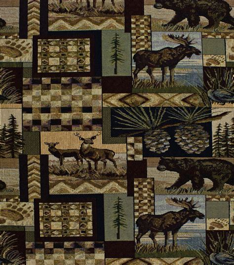 Lodge Upholstery Fabric by Home Decor Upholstery Fabric Regal Fabrics Peters Cabin