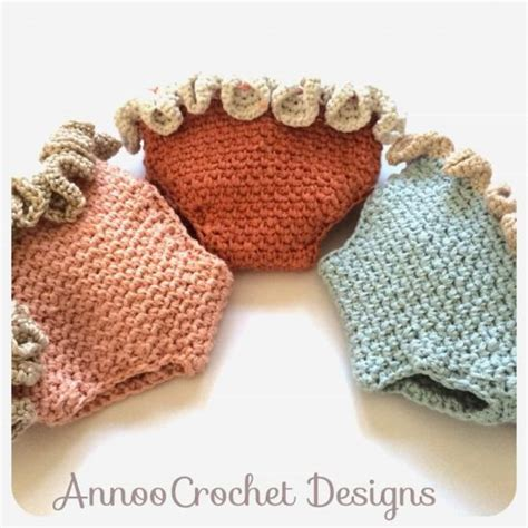 free pattern diaper cover crochet ruffled newborn diaper cover the whoot