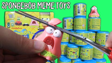 Toys Meme - 30 spongebob meme toy capsules yes actual meme toys