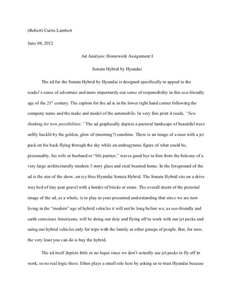 sle of analysis essay sle advertisement analysis essay 28 images