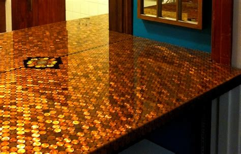 Kitchen Copper Backsplash by Bar Top Epoxy Table Top Epoxy Countetop Epoxy Clear