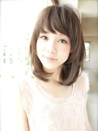hair style for a nine ye 髪型 ヘアスタイル ミディアムスタイル hair style medium hair style