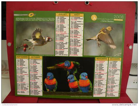 Calendrier J Cartier Bresson Les Oiseaux Des Ile Calendrier Almanach Du Facteur J