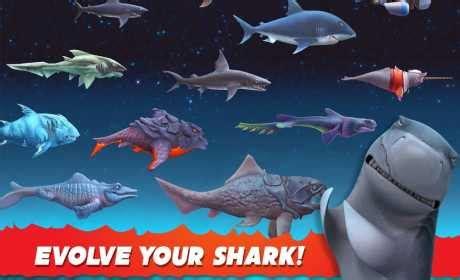 Download Game Hungry Shark Evolution Mod Apk Revdl | hungry shark evolution 5 7 0 apk mod mega mod android