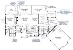 Best Ranch House Plans by Best Great Room Floor Plans Archival Designs Tres Le