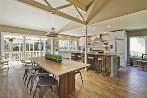 Modern Rustic Home Interior Design by A Rustic Modern Makeover San Diego Magazine January