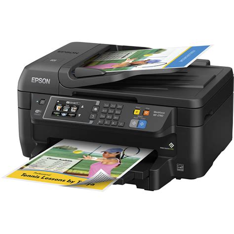 Printer Epson All In One epson workforce wf 2760 all in one inkjet printer