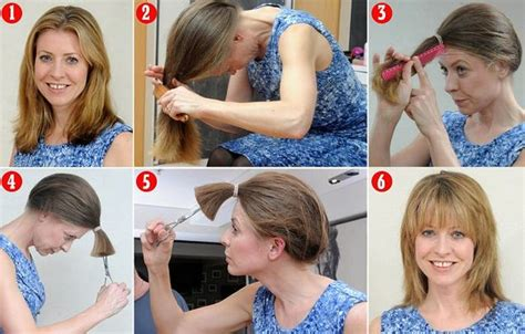 how to trim hair how to cut your own hair