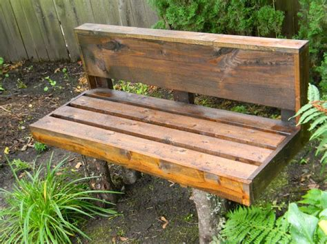 log bench legs 20 diy garden bench ideas that are out of the ordinary