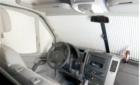 Outdoor Blinds And Awnings Remis Remifront Cab Blinds Mercedes Sprinter 2007