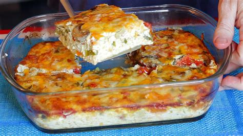 egg bake recipe or giant oven omelette
